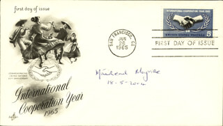 MAIREAD C. MAGUIRE - FIRST DAY COVER SIGNED 05/18/2004