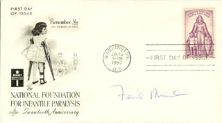 Autographs: FERID MURAD - FIRST DAY COVER SIGNED
