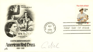 ERWIN NEHER - FIRST DAY COVER SIGNED