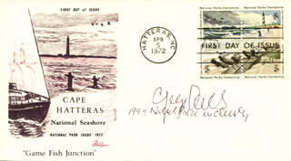 GEORGE OLAH - FIRST DAY COVER SIGNED