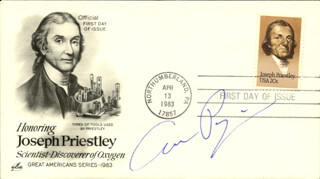 ARNO A. PENZIAS - FIRST DAY COVER SIGNED