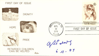 Autographs: GEORGE E. PALADE - FIRST DAY COVER SIGNED 05/19/2004