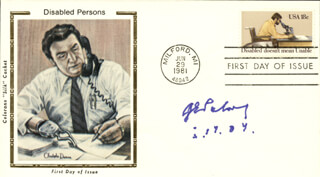 GEORGE E. PALADE - FIRST DAY COVER SIGNED 05/19/2004