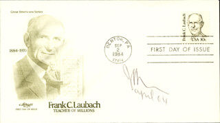 JAMES M. BUCHANAN JR. - FIRST DAY COVER SIGNED 4/2004
