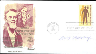 Autographs: BARUJ BENACERRAF - FIRST DAY COVER SIGNED
