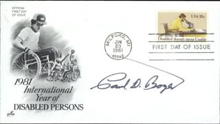 Autographs: PAUL D. BOYER - FIRST DAY COVER SIGNED