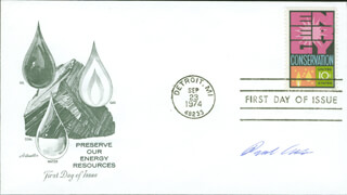 Autographs: PAUL J. CRUTZEN - FIRST DAY COVER SIGNED