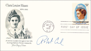 Autographs: ROBERT F. CURL JR. - FIRST DAY COVER SIGNED