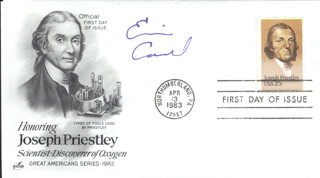 Autographs: ERIC A. CORNELL - FIRST DAY COVER SIGNED