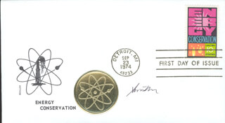 Autographs: STEVEN CHU - FIRST DAY COVER SIGNED