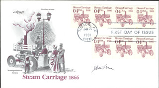STEVEN CHU - FIRST DAY COVER SIGNED