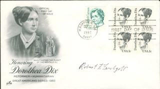 ROBERT F. FURCHGOTT - FIRST DAY COVER SIGNED