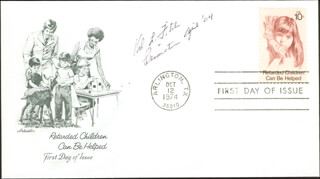 Autographs: VAL L. FITCH - FIRST DAY COVER SIGNED 04/2004