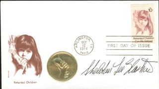 Autographs: SHELDON LEE GLASHOW - FIRST DAY COVER SIGNED