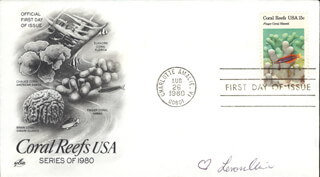 LENORA CLAIRE - FIRST DAY COVER SIGNED