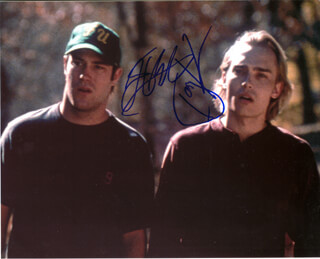 CABIN FEVER MOVIE CAST - AUTOGRAPHED SIGNED PHOTOGRAPH CO-SIGNED BY: JOEY KERN, JAMES DE BELLO