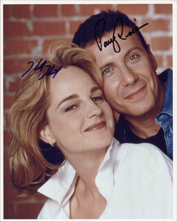 MAD ABOUT YOU TV CAST - AUTOGRAPHED SIGNED PHOTOGRAPH CO-SIGNED BY: HELEN HUNT, PAUL REISER
