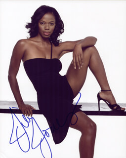 JILL JONES - AUTOGRAPHED SIGNED PHOTOGRAPH