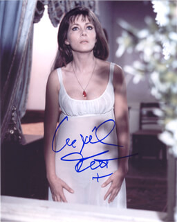 INGRID PITT - AUTOGRAPHED SIGNED PHOTOGRAPH