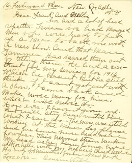 WILLIAM F. BUFFALO BILL CODY - AUTOGRAPH LETTER SIGNED