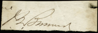 Autographs: MAJOR GENERAL JOHN G. BARNARD - SIGNATURE(S)