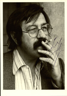 Autographs: GUNTER W. GRASS - PHOTOGRAPH SIGNED