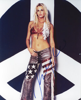 KYLIE BAX - AUTOGRAPHED SIGNED PHOTOGRAPH