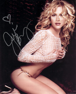 JULIE BENZ - AUTOGRAPHED SIGNED PHOTOGRAPH