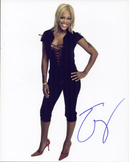 EVE - AUTOGRAPHED SIGNED PHOTOGRAPH