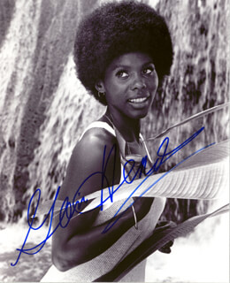 GLORIA HENDRY - AUTOGRAPHED SIGNED PHOTOGRAPH