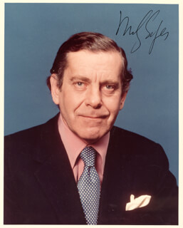 MORLEY SAFER - AUTOGRAPHED SIGNED PHOTOGRAPH
