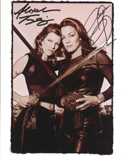 ALEXANDRIA TYDINGS - AUTOGRAPHED SIGNED PHOTOGRAPH CO-SIGNED BY: CLAUDIA CHRISTIAN