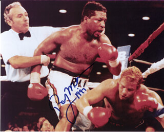 RAY MERCER - AUTOGRAPHED SIGNED PHOTOGRAPH 1997