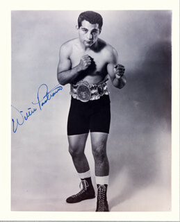 WILLIE PASTRANO - AUTOGRAPHED SIGNED PHOTOGRAPH