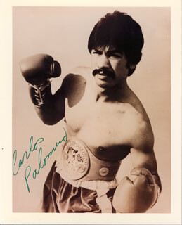 CARLOS PALOMINO - AUTOGRAPHED SIGNED PHOTOGRAPH