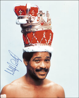 WILFRED BENITEZ - AUTOGRAPHED SIGNED PHOTOGRAPH