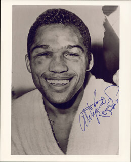 ULTIMINIO SUGAR RAMOS - AUTOGRAPHED SIGNED PHOTOGRAPH