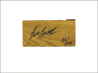 BILL RUSSELL - EPHEMERA SIGNED