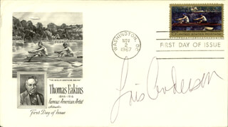 LOIS ANDERSON - FIRST DAY COVER SIGNED
