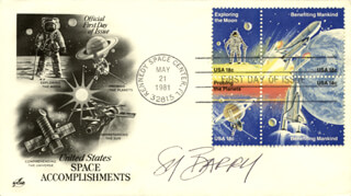SY BARRY - FIRST DAY COVER SIGNED