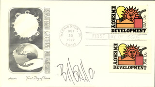 BILL GALLO - FIRST DAY COVER SIGNED