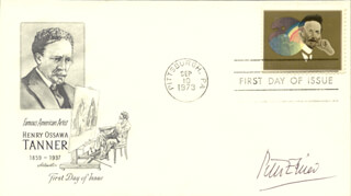 PETER SPIER - FIRST DAY COVER SIGNED