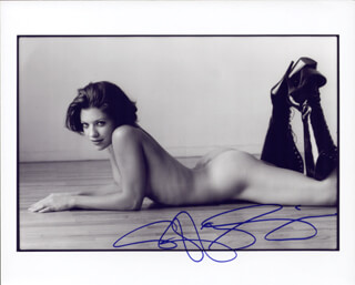 TIFFANY SHEPIS - AUTOGRAPHED SIGNED PHOTOGRAPH