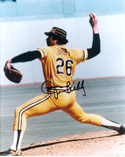 JIM BIBBY - AUTOGRAPHED SIGNED PHOTOGRAPH