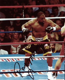 RAY MERCER - AUTOGRAPHED SIGNED PHOTOGRAPH