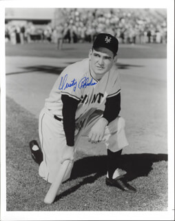 DUSTY (JAMES) RHODES - AUTOGRAPHED SIGNED PHOTOGRAPH