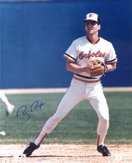 BILLY RIPKEN - AUTOGRAPHED SIGNED PHOTOGRAPH