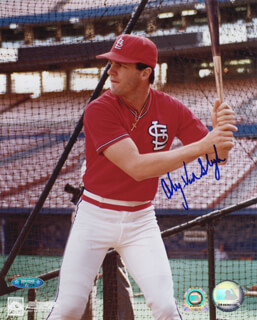 ANDY VAN SLYKE - AUTOGRAPHED SIGNED PHOTOGRAPH