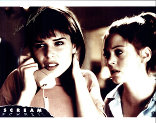 NEVE CAMPBELL - AUTOGRAPHED SIGNED PHOTOGRAPH