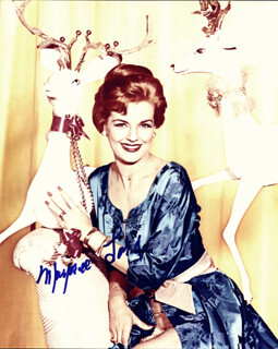 MARJORIE LORD - AUTOGRAPHED SIGNED PHOTOGRAPH